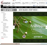 namshi.com screenshot
