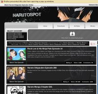 narutospot.net screenshot