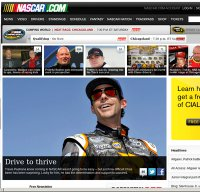 nascar.com screenshot