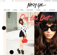 nastygal.com screenshot