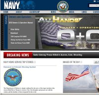 navy.mil screenshot