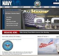 navy.mil screenshot
