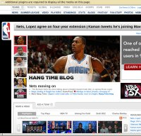 nba.com screenshot