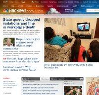 nbcnews.com screenshot