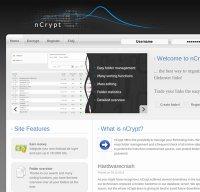 ncrypt.in screenshot