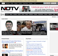 ndtv.com screenshot