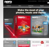 nero.com screenshot