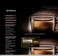 nespresso.com screenshot