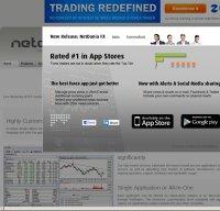 netdania.com screenshot