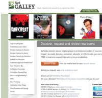 netgalley.com screenshot