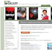 netgalley.com screenshot