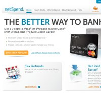 netspend.com screenshot