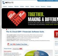netsuite.com screenshot