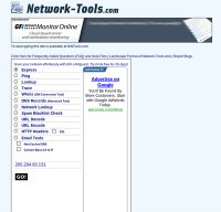 network-tools.com screenshot