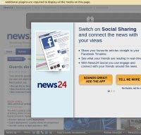 news24.com screenshot
