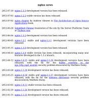 nginx.org screenshot