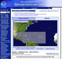 nhc.noaa.gov screenshot