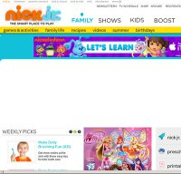 nickjr.com screenshot
