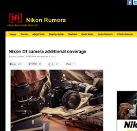 nikonrumors.com screenshot