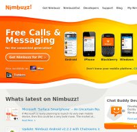 nimbuzz.com screenshot