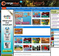 ninjakiwi.com screenshot