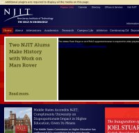 njit.edu screenshot