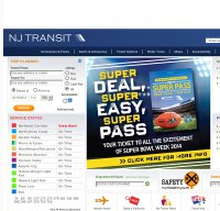 njtransit.com screenshot
