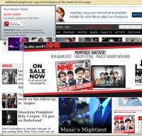 nme.com screenshot