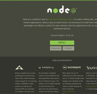 nodejs.org screenshot