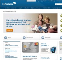 nordea.fi screenshot