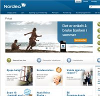 nordea.no screenshot