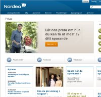 nordea.se screenshot