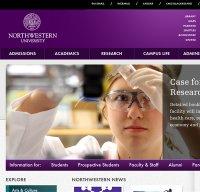 northwestern.edu screenshot