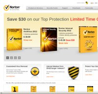 norton.com screenshot