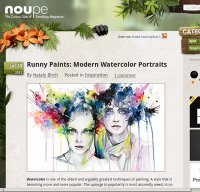noupe.com screenshot