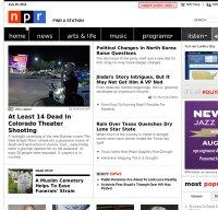 npr.org screenshot