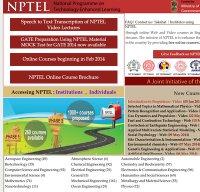 nptel.ac.in screenshot