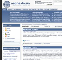 nsanedown.com screenshot
