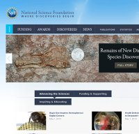 nsf.gov screenshot