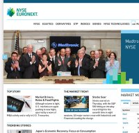 nyse.com screenshot