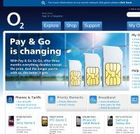o2.co.uk screenshot