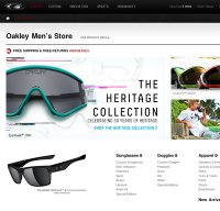 oakley.com screenshot