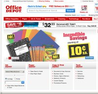 officedepot.com screenshot