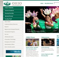 ohio.edu screenshot
