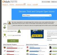 ohloh.net screenshot
