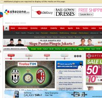 okezone.com screenshot