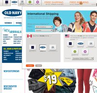 oldnavy.com screenshot