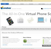 onebox.com screenshot
