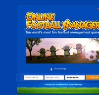 onlinefootballmanager.co.uk screenshot