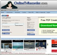 onlinetvrecorder.com screenshot
